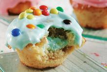 Cupcakes βανίλια για παιδιά