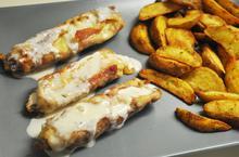 Ρολάκια κοτόπουλο με σος φέτας - Συνταγές Μαγειρικής - Chefoulis