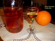 Λικέρ πορτοκάλι με κρόκο Κοζάνης, αγαπημένο και διαχρονικό...