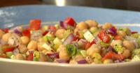 Σαλάτα με ρεβίθια και πιπεριές - Lovecooking.gr