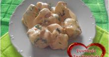 Κοτόπουλο σε σάλτσα τυριών