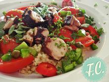 Σαλάτα με Χταπόδι και Πλιγούρι  - Funky Cook