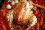 Κοτόπουλο στη γάστρα, με κρασί, της Gourmelita