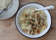 Κοτόπουλο με σάλτσα ροκφόρ - Συνταγές Μαγειρικής - Chefoulis