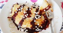 Τηγανίτες με Quaker  και Μέλι - Oatmeal Pancakes