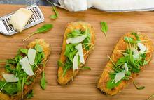 Μελιτζάνες τηγανιτές με κρούστα παρμεζάνας - Συνταγές Μαγειρικής - Chefoulis