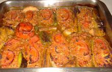 Παπουτσάκια με κιμά κοτόπουλο - Συνταγές Μαγειρικής - Chefoulis