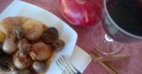 Μανιτάρια στιφάδο με κάστανα - Lovecooking.gr