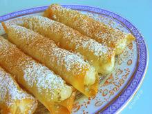 Ρολάκια τυριού