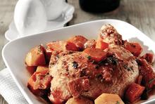 Κοτόπουλο με χειμωνιάτικα λαχανικά