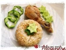 Κοτόπουλο με ρύζι στο φούρνο