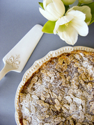 Quince and almond tart  τάρτα με κυδώνι καιαμύγδαλο