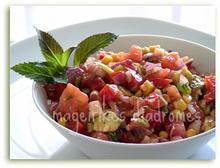 Φρέσκια μεξικάνικη σαλάτα