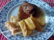 Μοσχάρι φιλέτο  με πάστα ελιάς ή με μουστάρδα