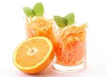Σαλάτα καρότο με σως πορτοκάλι