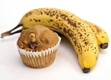 Γλυκάκια με μους μπανάνας