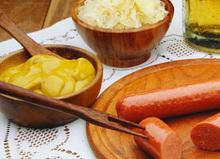 Dijon μουστάρδα sauce