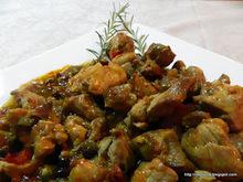 Κα��τερή χοιρινή τηγανιά - spicy fried pork chunks