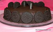 Μια σοκολατένια τούρτα με μπισκότα oreo για τα 30 μου - oreo cake for my birthday!