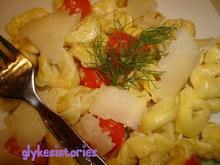 Τορτελίνια με κρέμα τυρί & ντοματίνια!
