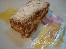 Μιλφέιγ σοκολάτας με άρωμα μανταρίνι και σάλτσα καραμέλας!