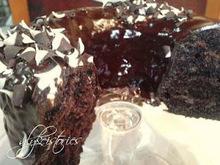 Ζουμερό κέικ σοκολάτας!