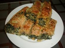 Τσουκνιδοπιτα/placinta cu urzici