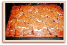 Κέικ τρίχρωμο