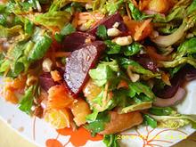 Σαλάτα με παντζάρι και πορτοκάλι
