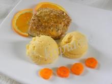Σολομός πανέ, μαριναρισμένος με πορτοκάλι και μέλι
