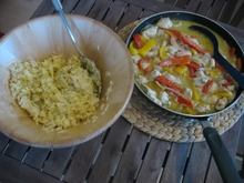 Green thai curry chicken