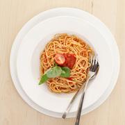 Συνταγή καυτερό σπαγγέτι με σκόρδο και τομάτα: spaghetti all