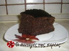 Ζουμερό κέικ της κουκουβάγιας