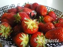 Φράουλες με κονιάκ