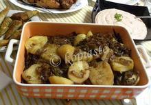 Νηστίσιμες πατάτες λυωνέζ αλά ελληνικά