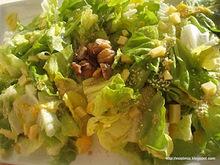 Μια ηλιόλουστη χειμωνιάτικη σαλάτα