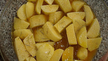 Πατάτες φούρνου με πορτοκάλι