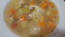 Σούπα λαχανικών της φωτεινούλας αλά μινεστρόνε