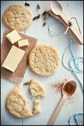 Μπισκότα με άρωμα λεμόνι και τζίντζερ, ιδέα για δώρο και καρτελάκια/lemon cookies