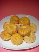 Μίνι κεκάκια με κανελοζάχαρη