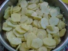 Πατάτες σουφλέ με σκόρδο & κρέμα γάλακτος!!συνοδευτικό κυρίως πιάτου,
