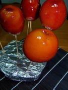 Μαγειρευουμε ελληνικα......καραμελωμενα κοκκινα μηλαρακια