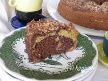 Το καλύτερο κέικ μαρμπρέ με σοκολάτα  περγαμόντο και αμύγδαλο