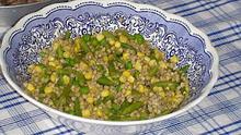 Φαγόπυρο με φρέσκα φασόλια