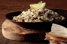Μουτζέντρα (παραδοσιακό κυπριακό φακόρυζο)