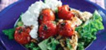 Ξερά κουκιά σαλάτα