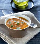 Σούπα με καρότα και κόκκινη φακή