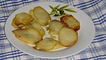 Τσιπς με πατάτες