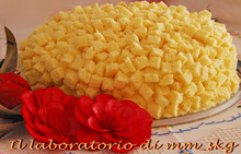 Τουρτα μιμοζα για την γιορτη της γυναικας  *****  torta mimosa