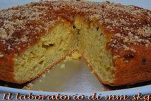 Torta di mele allo zafferano   ******    μηλοπιτα αναποδογυριστη με κροκο κοζανης